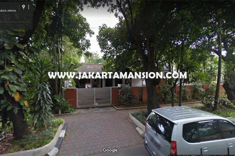 HS881 Rumah Jalan Gereja Theresia Menteng Dijual Murah 79 juta/m Golongan C