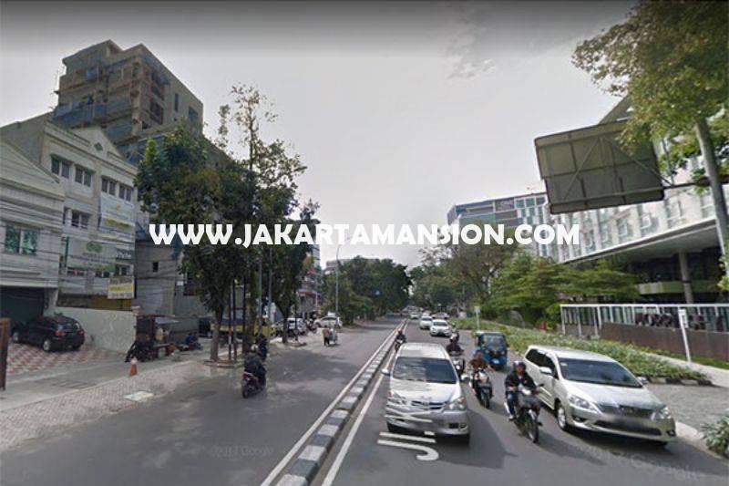 HS888 Rumah hitung tanah Jalan Wahid Hasyim Menteng Dijual Murah bisa bangun 6 lantai