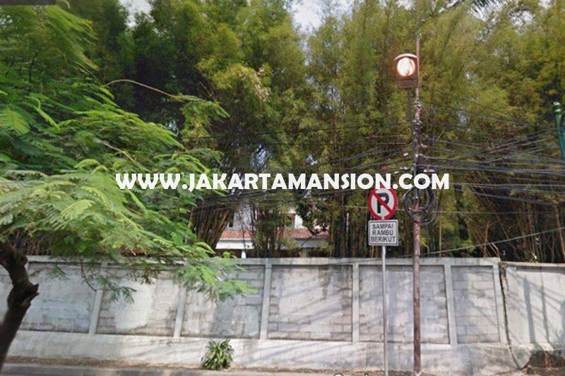 LS901 Tanah jalan Melawai Raya Kebayoran Baru Dijual Murah bisa dibangun 6 lantai