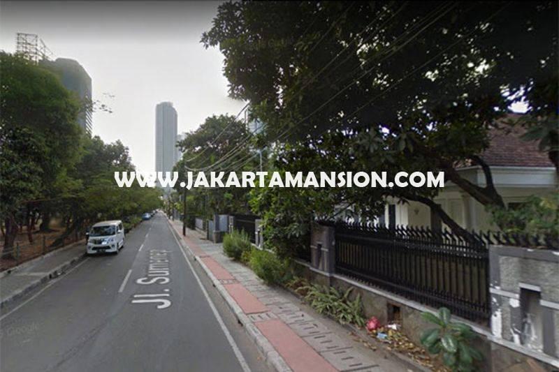 HS905 Rumah Jalan Sumenep Menteng Tanah Kotak dekat Bunderan HI Thamrin Dijual Murah