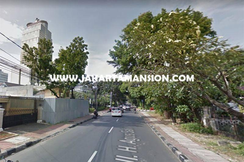 HS909 Rumah Jalan Agus Salim Menteng dekat MH Thamrin Dijual Murah tanah Kotak