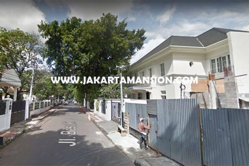 HS911 Rumah Jalan Besuki Menteng Dijual Murah Bangunan Tua Hitung Tanah Kotak