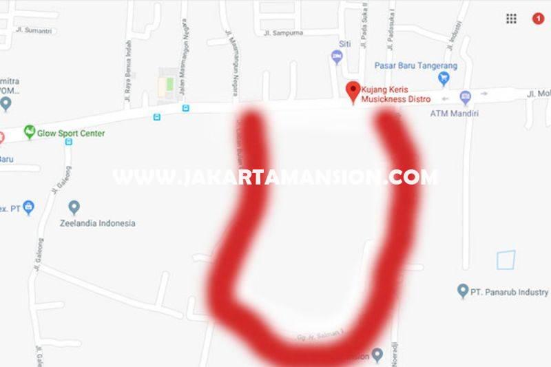 LS924 Tanah Jalan Mohammad Toha Tangerang Luas 6,5 hektar Dijual Murah Bisa buat Gedung Mall Apartemen
