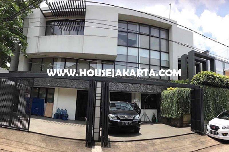 OS940 Gedung kantor 3 lantai Bendungan Hilir dekat Jalan Sudirman Gatot Subroto Dijual Murah