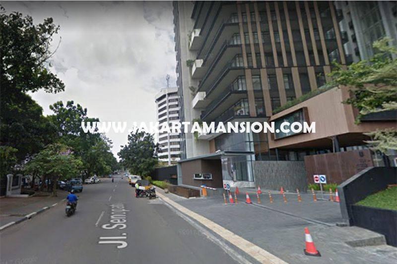 HS943 Rumah Bagus Jalan Senopati Raya Kebayoran Baru Dijual Murah Tanah Kotak