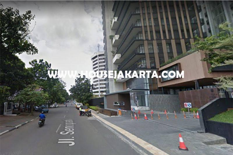 HS944 Rumah Bagus Jalan Senopati Raya Kebayoran Baru Dijual Murah Tanah Kotak