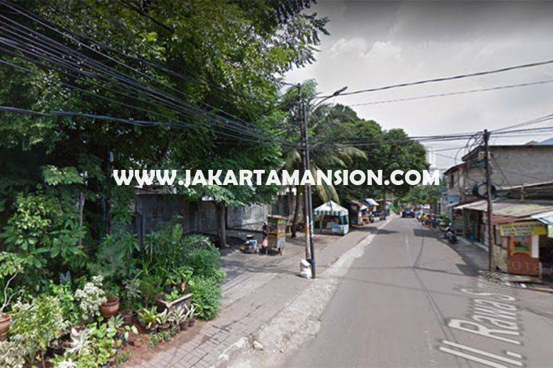 LS946 Tanah Jalan Rawa Simprug Permata Hijau Luas 3.150m Dijual Murah 20 Juta/m