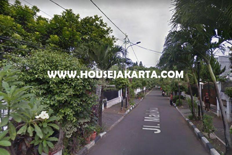 HS963 Rumah Jalan Maluku Menteng Dijual Murah Rp 48M Tanah Kotak