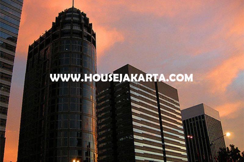 OS966 Dijual Kantor Digedung Menara Sudirman luas 436m View City Senayan Siap Pakai