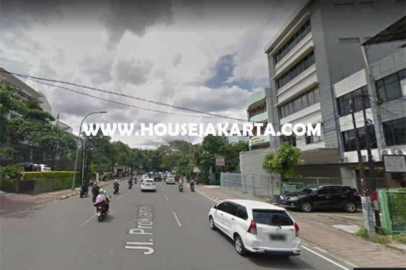 LS978 Rumah tua hitung tanah Jalan Proklamasi Menteng ijin komersial Gedung 7 Lantai Dijual Murah 35M