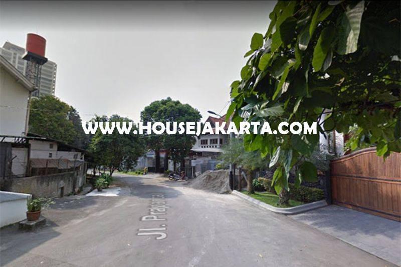 HS987 Rumah Bagus 2 lantai jalan Prapanca kebayoran Baru Dijual Murah