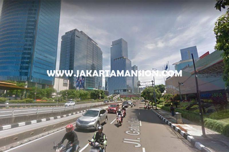 LS1010 Tanah Jalan Gatot Subroto dekat Rasuna Said Kuningan Dijual Bisa 30 Lantai
