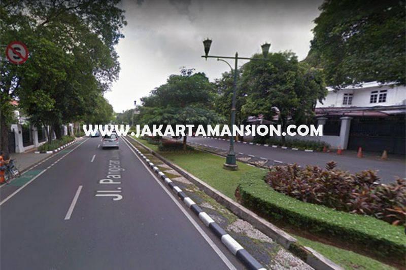 HS1015 Rumah Bagus 2 Lantai Jalan Diponegoro Menteng Dijual Murah Tanah Kotak Ada Pool