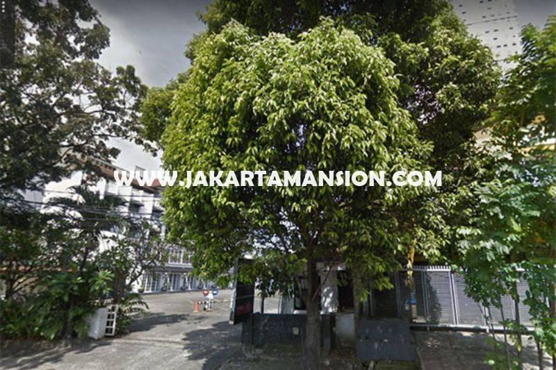 LS1017 Tanah Jalan Arteri Metro Pondok Indah Bisa buat Gedung Kantor Dijual Murah Ngantong