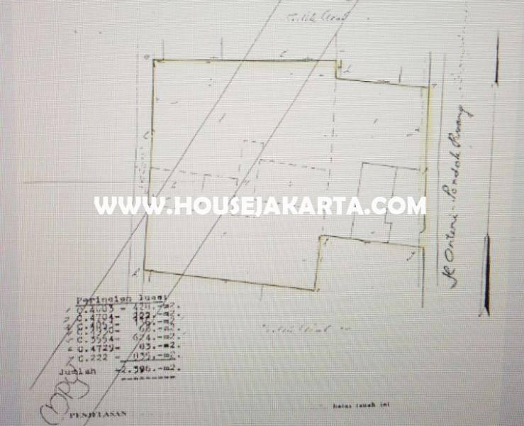 LS1018 Tanah Jalan Arteri Metro Pondok Indah Bisa buat Gedung Kantor Dijual Murah Ngantong
