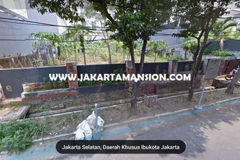 LS1036 Tanah Jalan Tulodong Senopati kebayoran Baru Depan Taman Kotak Dijual Murah