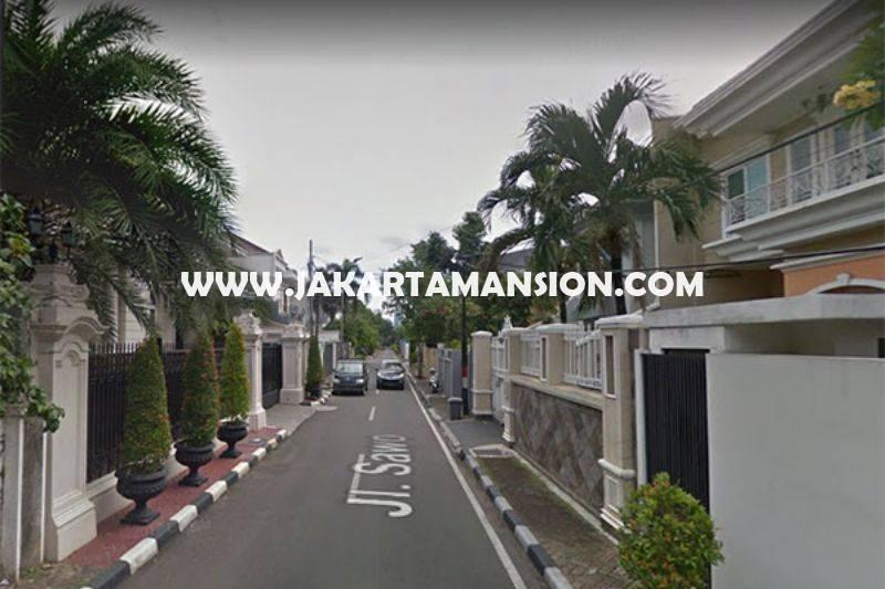 HS1081 Rumah Bagus jalan Sawo Menteng Dijual Murah Tanah Kotak