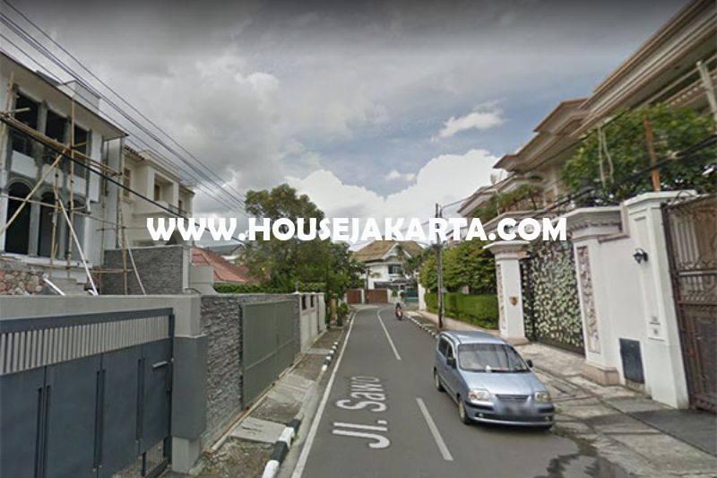 HS1082 Rumah Bagus jalan Sawo Menteng Dijual Murah Tanah Kotak