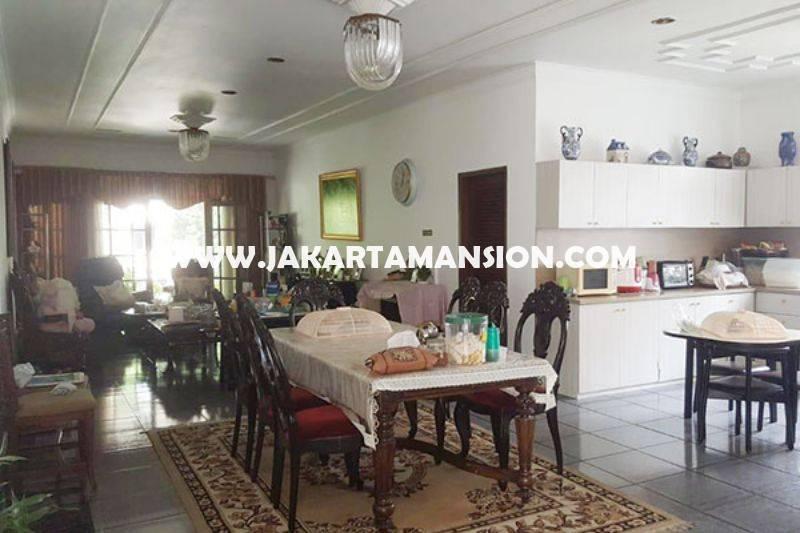 HS1085 Rumah Jalan Adityawarman Senopati Kebayoran Baru dekat SCBD Sudirman Dijual