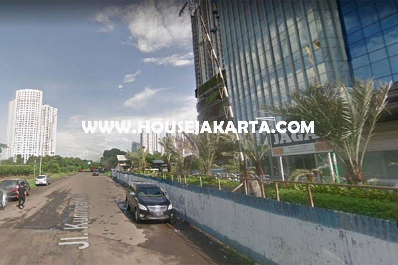 LS1124 Tanah Jalan Kuningan Madya HR Rasuna Said luas 3.100m Dijual Murah bisa 13 Lantai