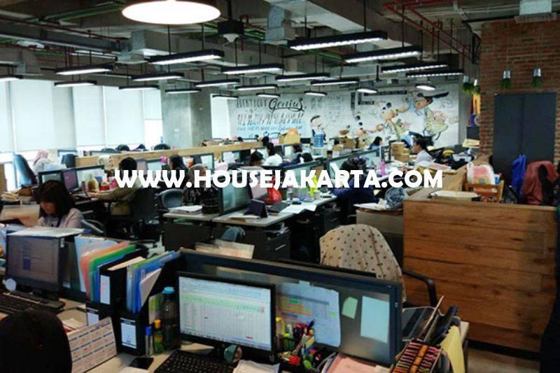 OS1126 Kantor di Office 88 Kota Kasablanka 1 lantai Luas 1700m Dijual Murah 40 juta/m