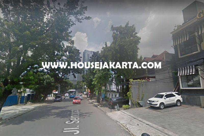 CS1162 Rumah toko Ruko Restoran Jalan Senopati Raya Kebayoran Baru dekat SCBD Sudirman Dijual Murah