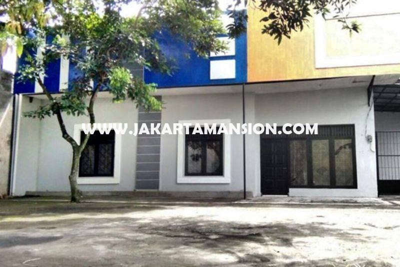CS1163 Rumah Toko Ruko Restoran Jalan Panglima Polim IX Kebayoran Baru Dijual