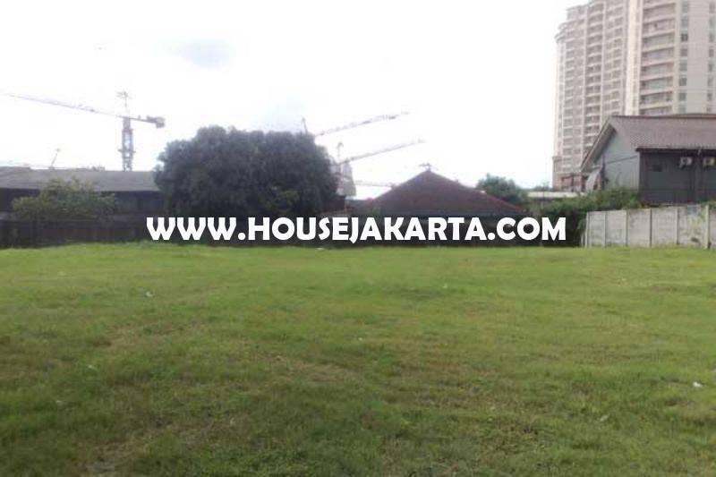 LS1183 Tanah Jalan Senopati Raya luas 3000m dekat SCBD Sudirman Dijual ijin Bisa Gedung