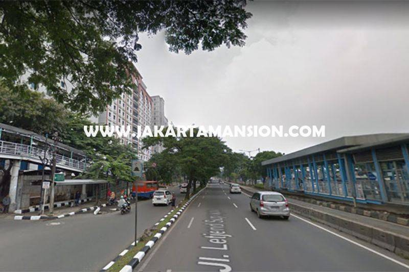LS1186 Tanah Komersial Jalan Letjen Soeprapto Jakarta Pusat ijin Gedung 8 Lantai Dijual Murah