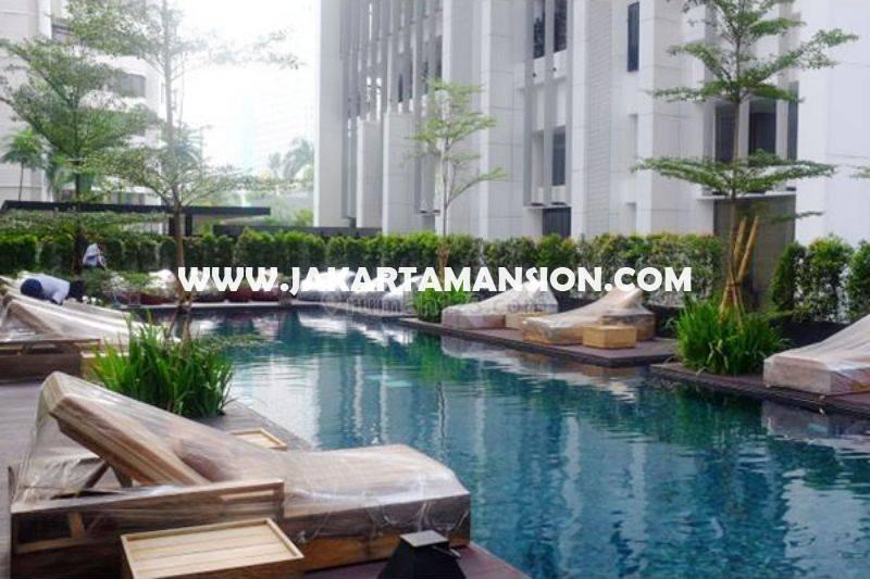 AS1195 Apartement Senopati Suite Kebayoran Baru dekat SCBD Sudirman 4 BedRooms luas 300m Dijual Murah