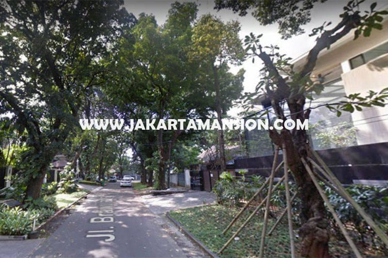 HS1202 Rumah Jalan Brawijaya X Kebayoran Baru dekat Senopati Dijual Murah Daerah Asri Tenang