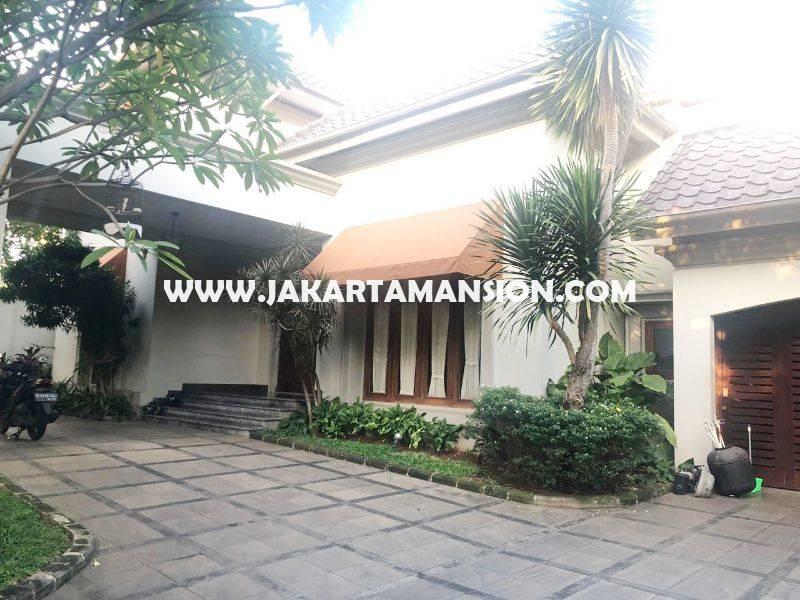 HR1204 House for Rent sewa lease at Kemang