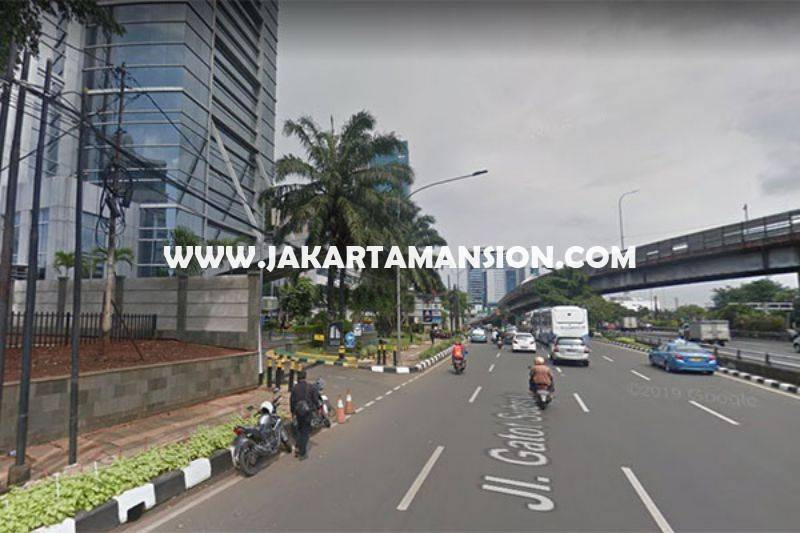 LS1207 Tanah Jalan Gatot Subroto Jakarta Selatan Dijual Murah Luas 1,4 hektar bisa 3 tower ijin 60 Lantai
