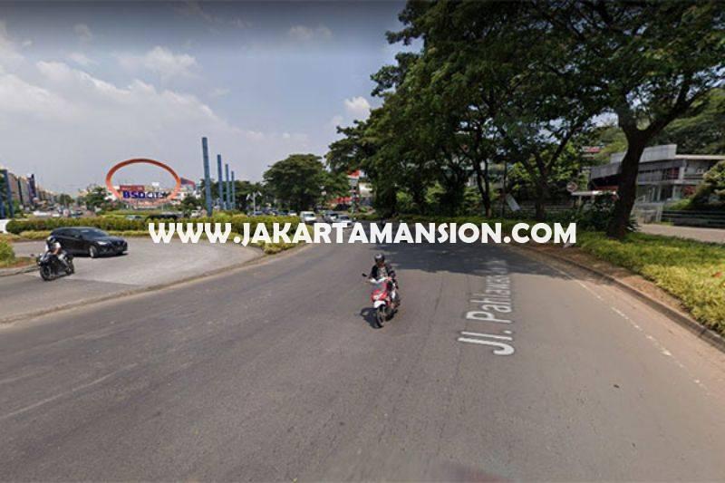 LS1243 Tanah Komersial jalan Pahlawan Seribu Sektor VIA BSD City luas 8.274m Dijual Murah