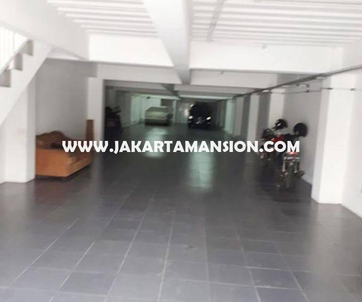 CS1265 Bangunan Gedung Komersial 3 lantai Jalan HOS cokroaminoto Menteng Dijual Murah dekat Sate Senayan