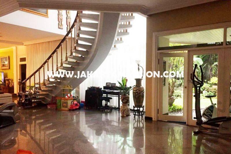 HS1277 Rumah Jalan Mataram Senopati Kebayoran Baru dekat SCBD Sudirman Dijual