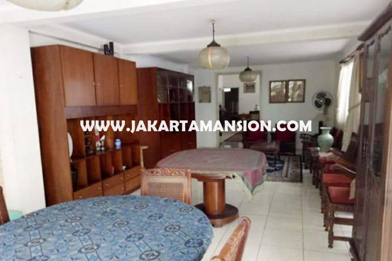HS1311 Rumah 2 lantai Jalan Ki Mangunsarkoro Menteng Jakarta Pusat Dijual Murah Tanah Persegi