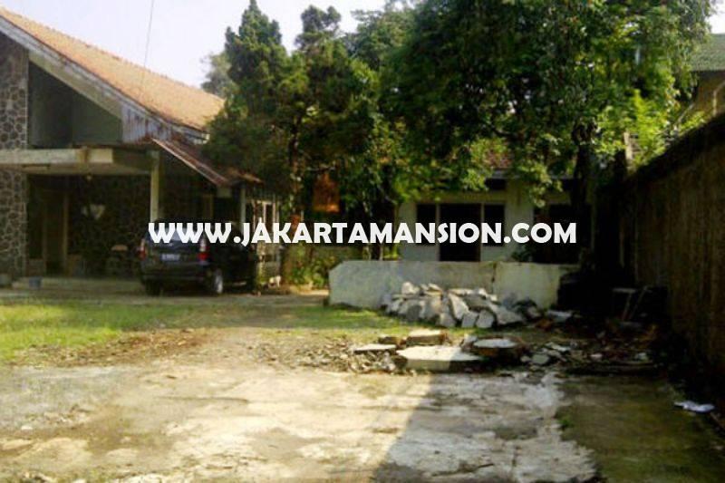 LS1315 Tanah Komersial Jalan Plaju dekat MH Thamrin MRT Sudirman bisa dibangun 12 Lantai Dijual Murah