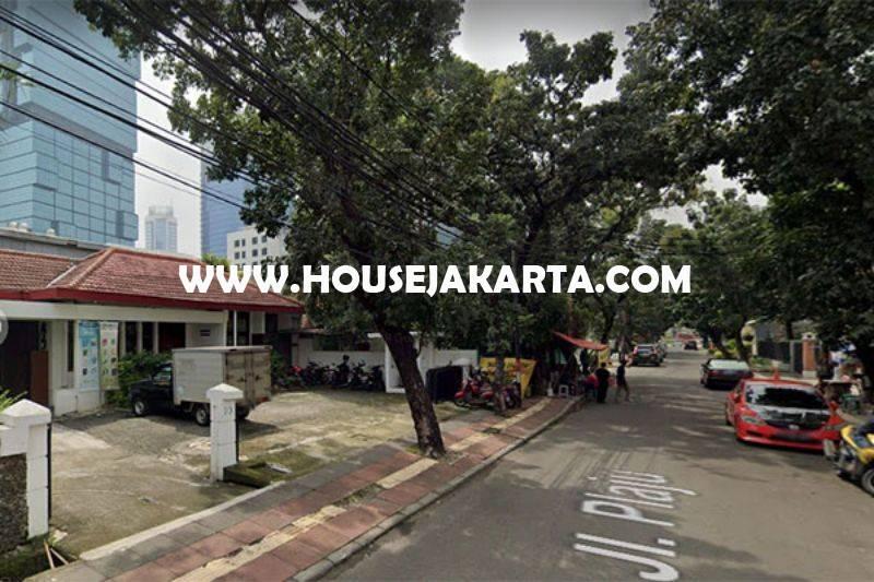 LS1316 Tanah Komersial Jalan Plaju dekat MH Thamrin MRT Sudirman bisa dibangun 12 Lantai Dijual Murah