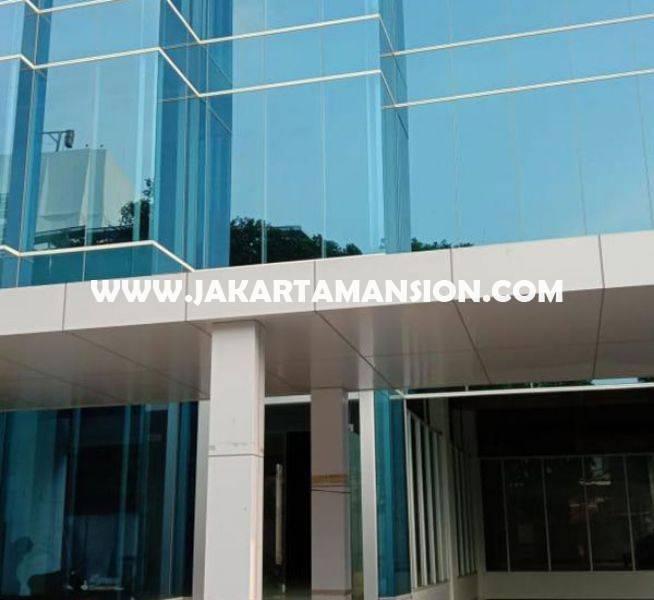 OS1321 Gedung Baru Brand New Menteng Jakarta Pusat 4,5 Lantai ada Basement Dijual Murah 150M