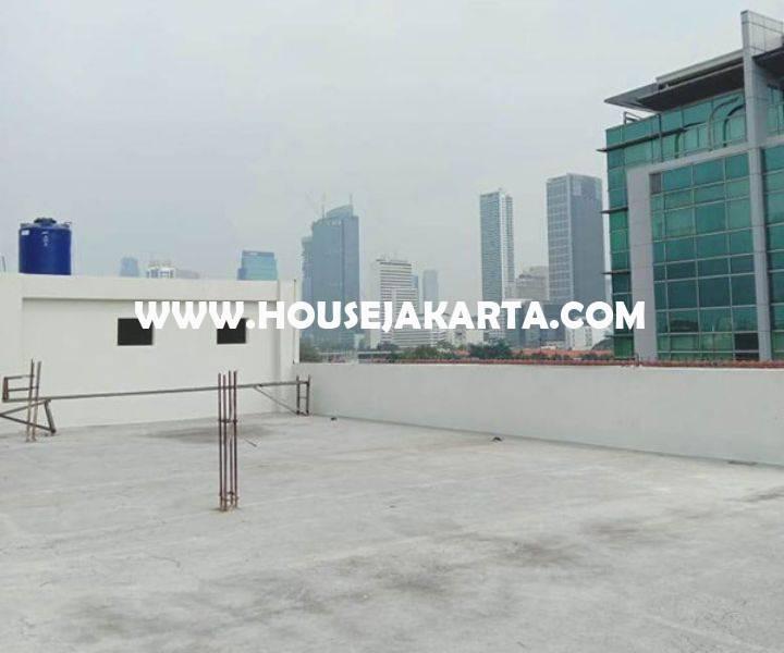 OS1322 Gedung Baru Brand New Menteng Jakarta Pusat 4,5 Lantai ada Basement Dijual Murah 150M