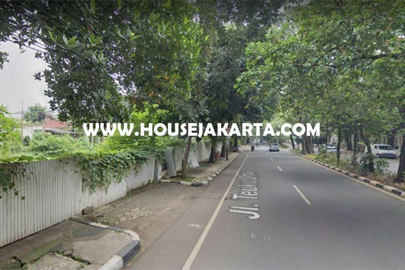 HS1338 Dijual Rumah lama Jalan Teuku Umar Menteng Hitung Tanah Persegi Luas 2700m Golongan C