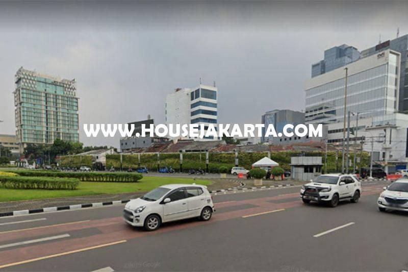 LS1380 Tanah Komersial Jalan Raya Kebon Sirih Menteng Dijual Murah Bisa dibangun 7 Lantai