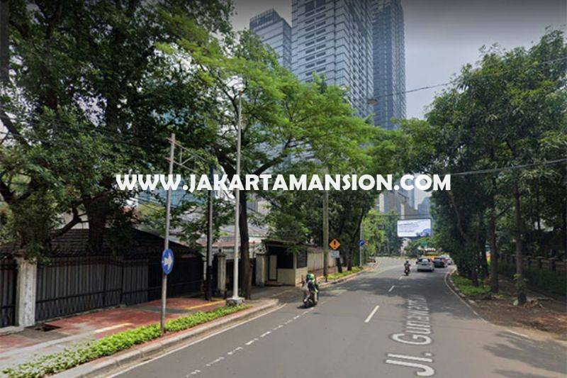 CS1389 Komersial Jalan Gunawarman Raya Senopati dekat SCBD Sudirman Bisa Buat Usaha Dijual Murah