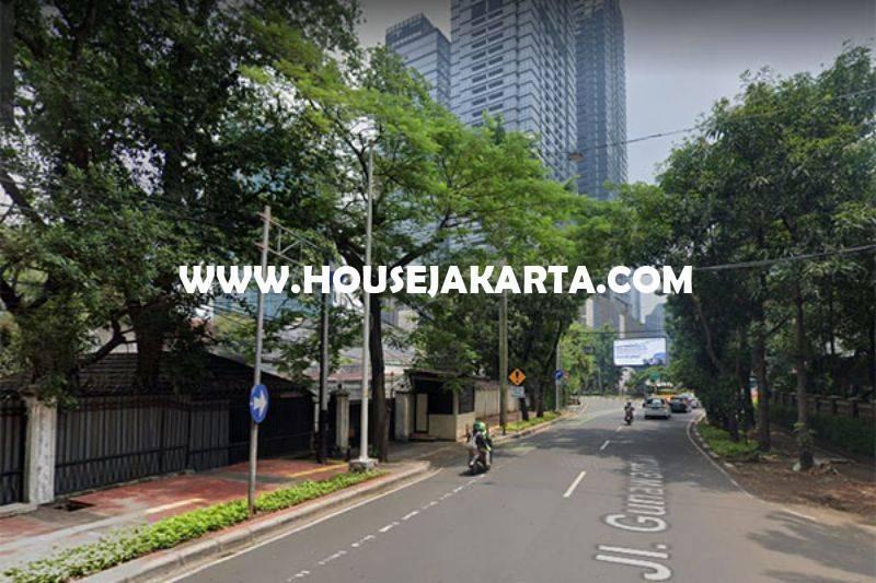 CS1390 Komersial Jalan Gunawarman Raya Senopati dekat SCBD Sudirman Bisa Buat Usaha Dijual Murah