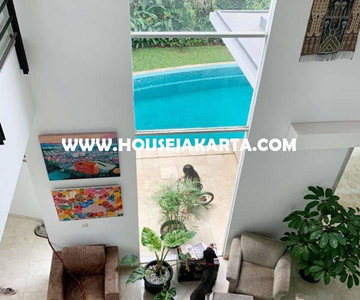 HS1396 Rumah Bagus 2,5 lantai ada Pool Daerah Senopati Kebayoran Baru dekat SCBD Sudirman Dijual Murah