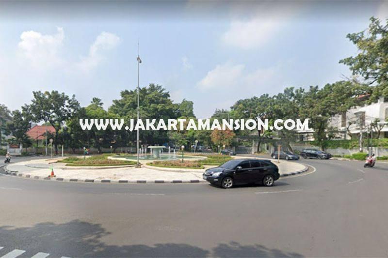 LS1409 Tanah jalan Teuku Umar Menteng Luas 2975m Dijual Murah ijin bisa dibangun 4 Lantai