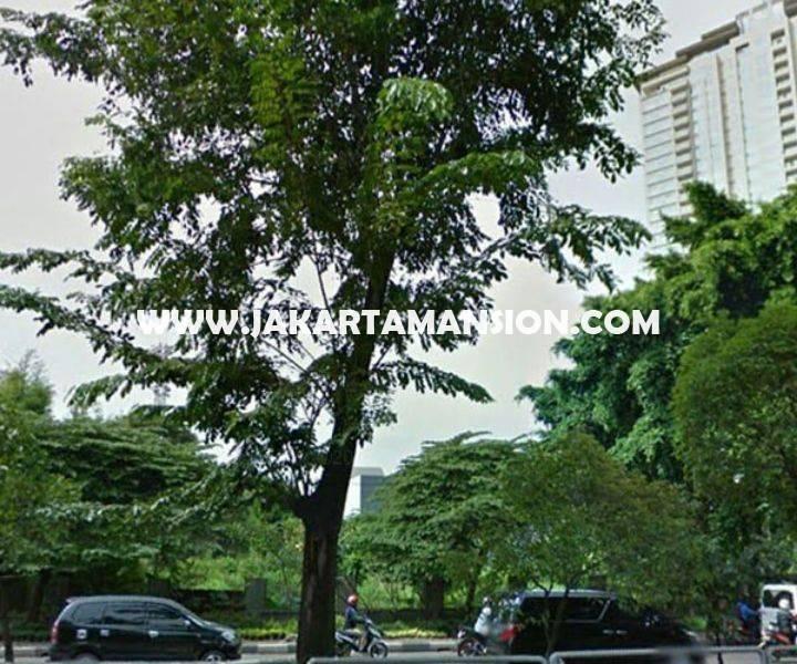 LS1423 Tanah Jalan raya Teuku Nyak Arif Simprug hoek Sinabung Dijual Murah bisa 4 Lantai
