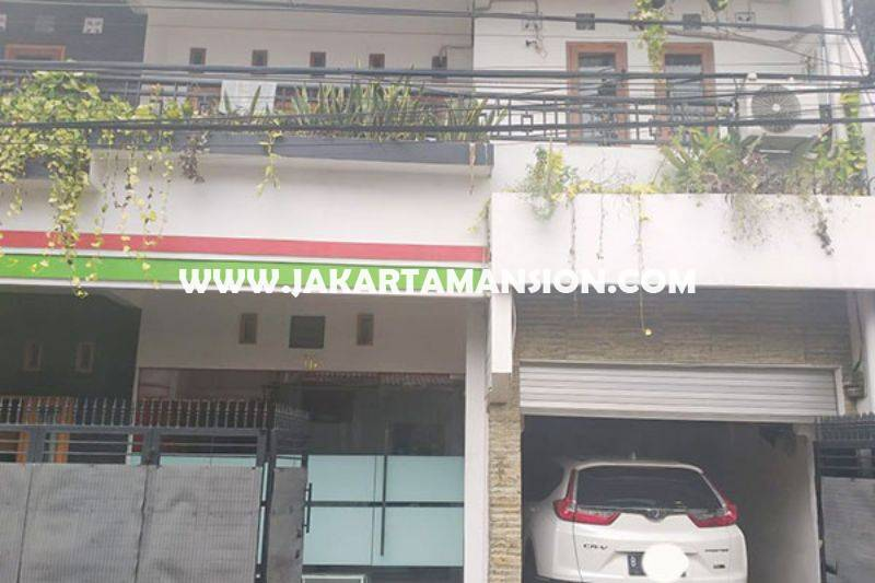 HS1433 Rumah 3 lantai Jalan Duren Tiga Selatan no 16a Pancoran Kalibata Dijual Murah 2,5M jalanan 2 mobil Bisa ditermin 2 tahun