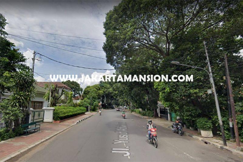 HS1465 Rumah lama Jalan Yusuf Adiwinata Menteng hitung Tanah luas 922m Dijual Murah
